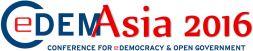 Logo CeDEM Asia 2016